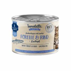 Sanabelle - Sanabelle Hrana Umeda Pentru Pisici Cu Pastrav Si Vita
