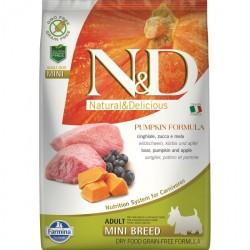 N&D - N&D Dog Grain free Pumpkin Boar and Apple Adult Mini