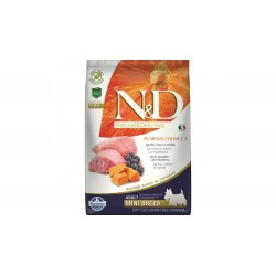 N&D - N&D Dog Grain free Pumpkin Lamb and Blueberry Adult Mini