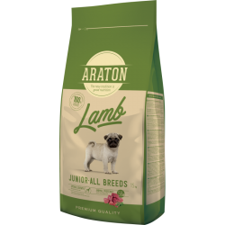 Araton - Araton Dog Junior Lamb&Rice
