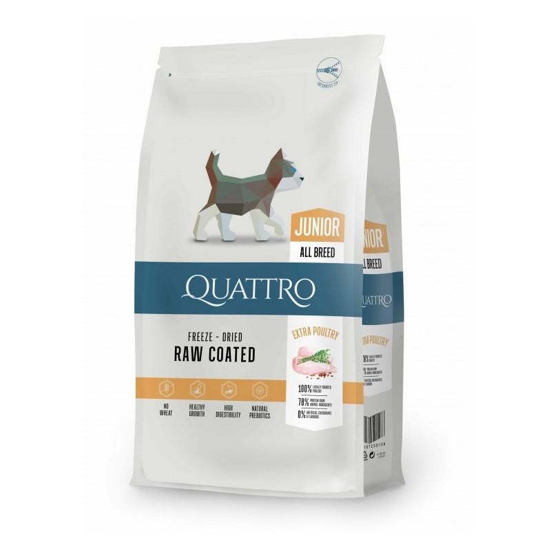 Quattro - Quattro Premium All Breed Junior Cu Carne De Pui