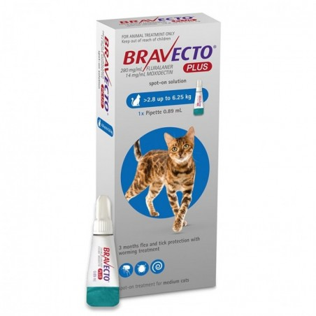 Bravecto - Bravecto Plus Spot On Cat
