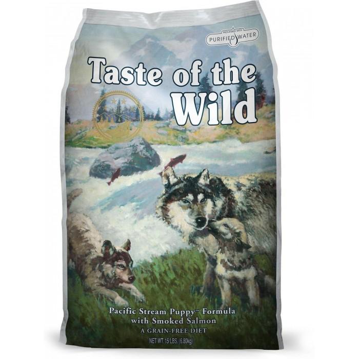 Taste of The Wild - Taste of The Wild - Pacific Stream Puppy® Formula cu Somon Afumat