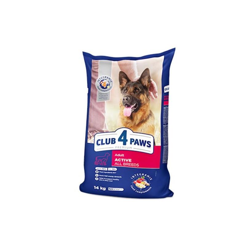 Club 4 Paws - Club 4 Paws Hrana Premium pentru caini adulti activi