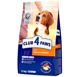 Club 4 Paws - Club 4 Paws Hrana Premium pentru caini de talie medie de la 11 pana la 25 kg