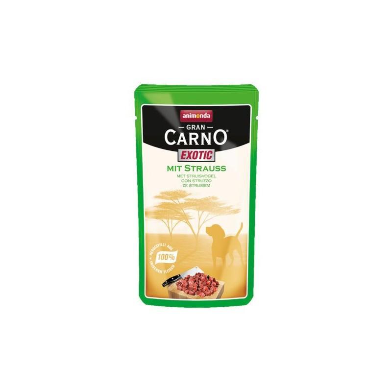 Animonda - GranCarno - GranCarno Exotic Hrana umeda pentru caini cu strut