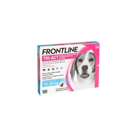Frontline - Frontline Tri-Act Spot-On Antiparazitar uz extern pentru caini cu greutatea intre 10 si 20 kg
