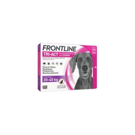 Frontline - Frontline Tri-Act Spot-On Antiparazitar uz extern pentru caini cu greutatea intre 20 si 40 kg