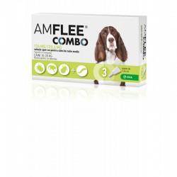 KRKA - Amflee Combo Dog pentru utilizare impotriva infestarilor cu purici si capuse pentru caini cu greutatea intre 10 - 20 kg