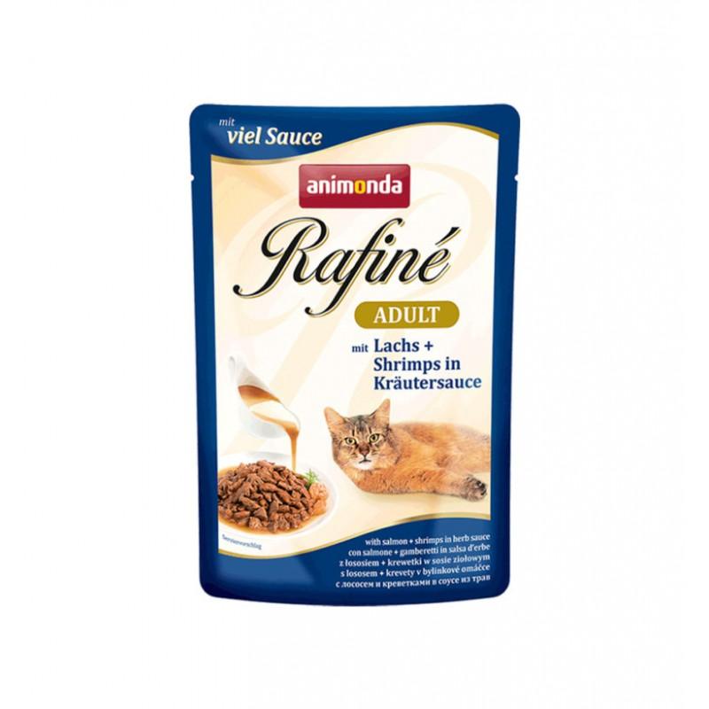 Animonda - GranCarno - Rafine Soupe Somon si Creveti, hrana umeda pentru pisici