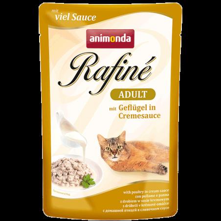 Animonda - GranCarno - Rafine Soupe Adult cu pui in sos de smantana, hrana umeda pentru pisici