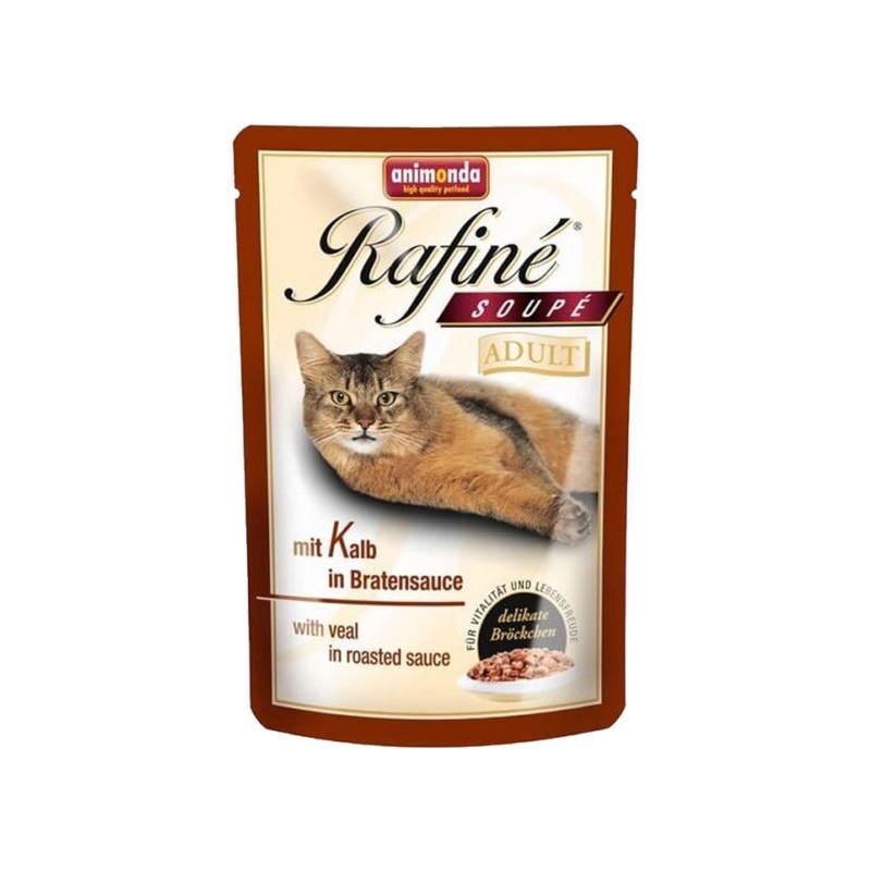 Animonda - GranCarno - Rafine Soupe Adult cu vitel in sos, hrana umeda pentru pisici