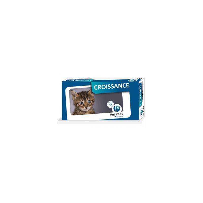 Pet Phos - Pet Phos Felin Croissance Supliment de vitamine pentru pisici