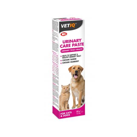 VetIQ - VetIQ Urinary Care Paste ajuta la sustinerea unui tract urinar sanatos si la mentinerea unui PH urinar sanatos