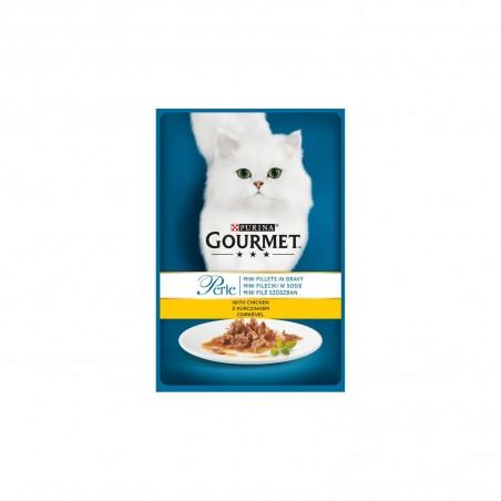 Gourmet - Gourmet Perle cu pui plic hrana umeda