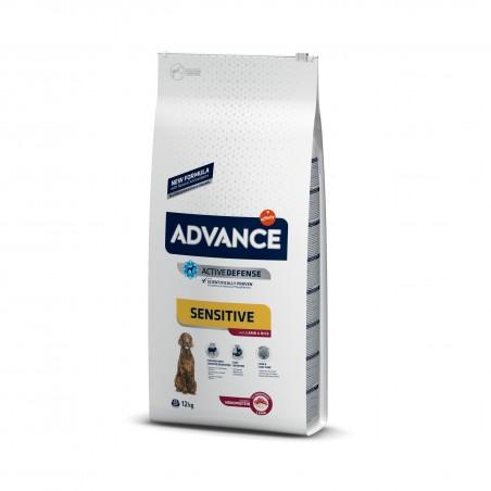 Advance - Advance dog Sensitive Cu Miel si Orez, Hrana uscata pentru caini