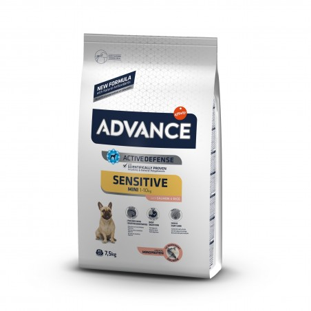 Advance - Advance Dog Mini Sensitive Hrana uscata pentru caini de talie mica cu sensibilitati digestive