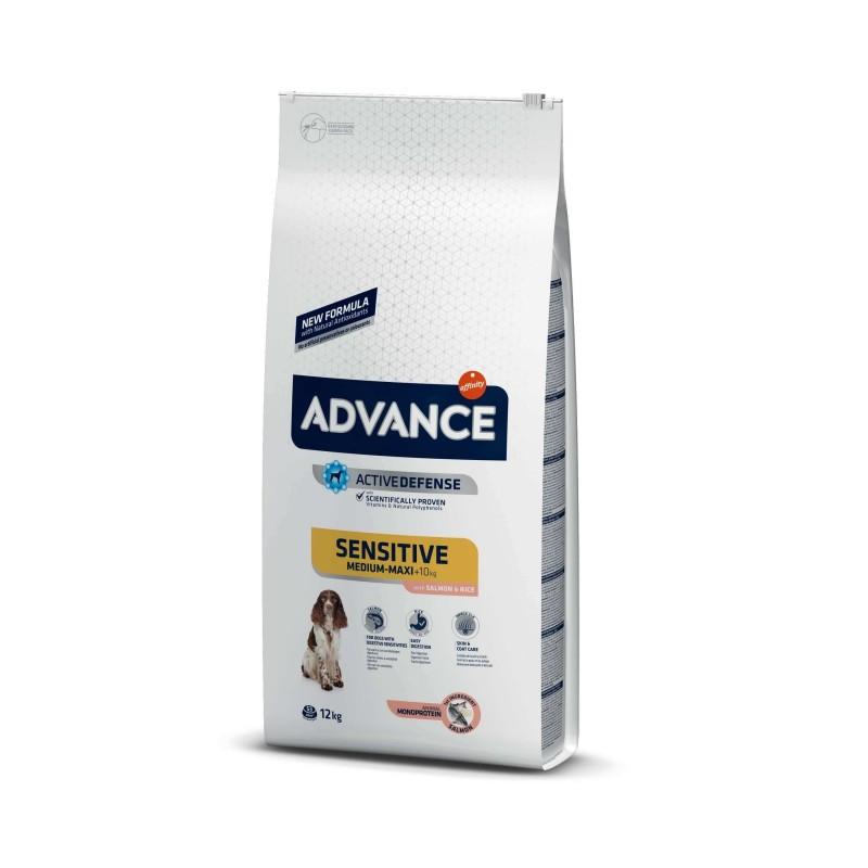 Advance - Advance Dog Sensitive Somon si Orez Hrana uscata pentru caini adulti care nu tolereaza proteinele