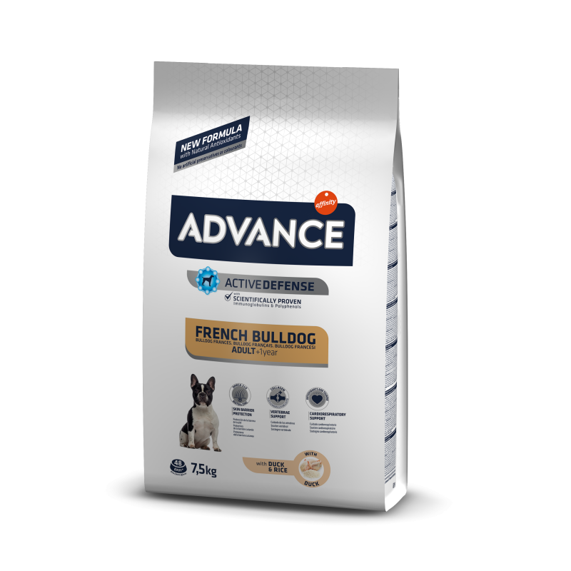 Advance - Advance Dog Bulldog Francez Hrana uscata pentru caini adulti din rasa Bulldog Francez