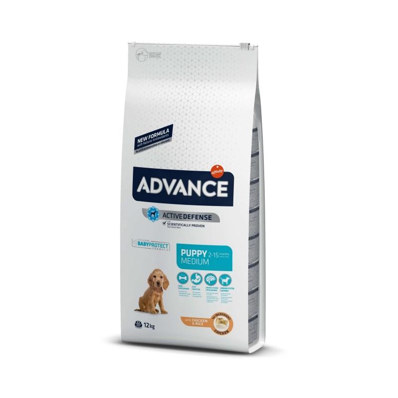 Advance - Advance Dog Medium Puppy Protect Hrana uscata pentru puii de caini de talie medie