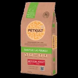 Petkult - Petkult Sensitive Medium Adult cu miel si orez