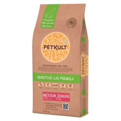 Petkult - Petkult Sensitive Medium Junior cu miel si orez