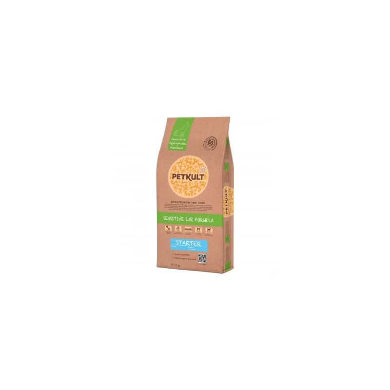 Petkult - Petkult Sensitive Starter cu miel si orez