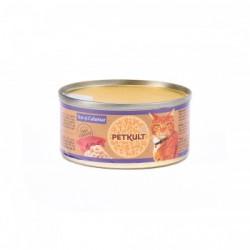 Petkult - Petkult Hrana umeda pentru pisici cu ton si calamar
