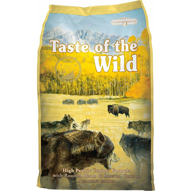 Taste of The Wild - Taste of The Wild - High Prairie Canine® Formula cu Bizon & Vanat Fript