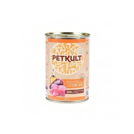 Petkult - Petkult Hrana umeda pentru caini adulti cu curcan