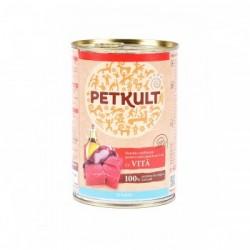 Petkult - Petkult Hrana umeda pentru caini juniori cu vita