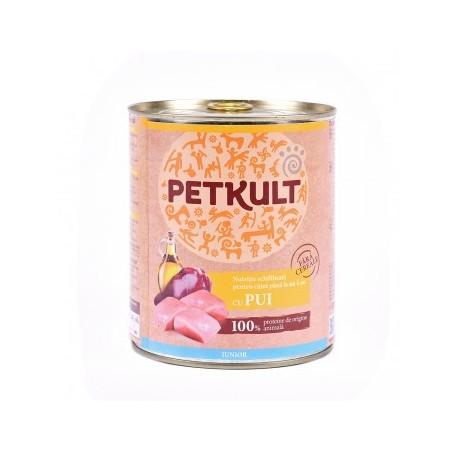 Petkult - Petkult Hrana umeda cu pui pentru caini juniori