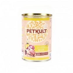 Petkult - Petkult Hrana umeda cu rata pentru caini adulti