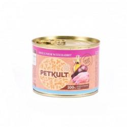 Petkult - Petkult Mini Junior cu Iepure hrana umeda pentru caini de talie mica