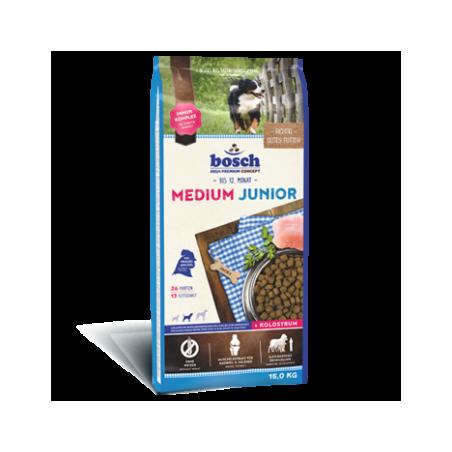 Bosch - Bosch Medium Junior Hrana uscata recomandata cainilor juniori de talie medie