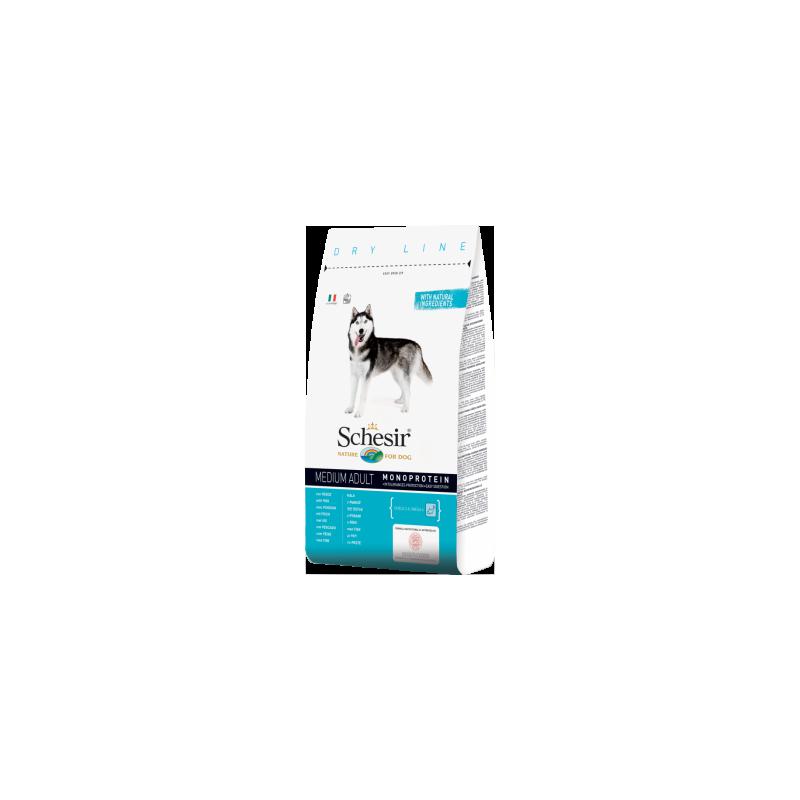 Schesir - Schesir Medium Adult Monoprotein cu peste
