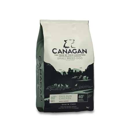 Canagan - Canagan Grain Free Small Breed cu pui