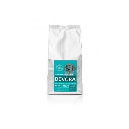 Devora - Devora Grain Free Puppy Large si Medium cu iepure