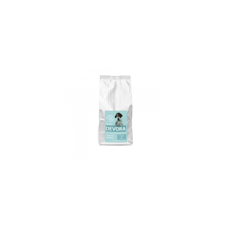 Devora - Devora Grain Free Starter cu curcan, hering si mazare