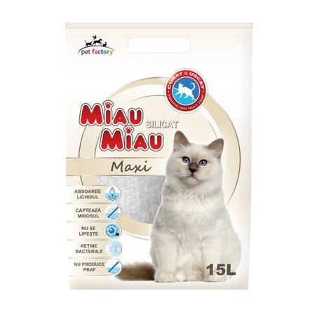 MIau Miau - Miau Miau asternut igienic pentru pisici