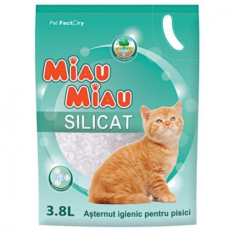 MIau Miau - Miau Miau Silicat asternut igienic pentru pisici