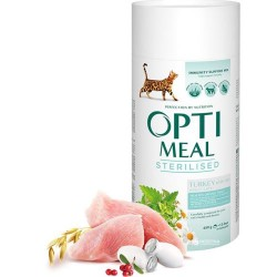 Optimeal - Optimeal Cat Sterilised cu Curcan si Ovaz