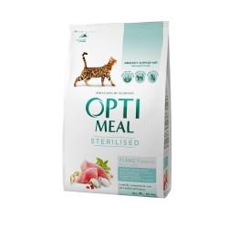 Optimeal - Optimeal Cat Sterilised cu Curcan si Ovaz
