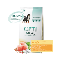 Optimeal - Optimeal Dog Adult Large Breeds cu Pui