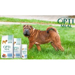 Optimeal - Optimeal Dog Adult Medium Hipoalergenic cu somon
