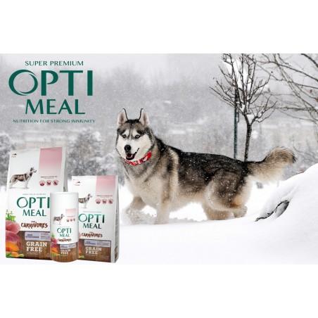 Optimeal - Optimeal Dog Adult Grain Free cu Rata si Legume