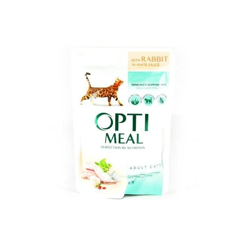 Optimeal - Optimeal Cat Iepure in Sos Alb