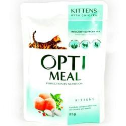 Optimeal - Optimeal Cat Kitten cu Carne de Pui