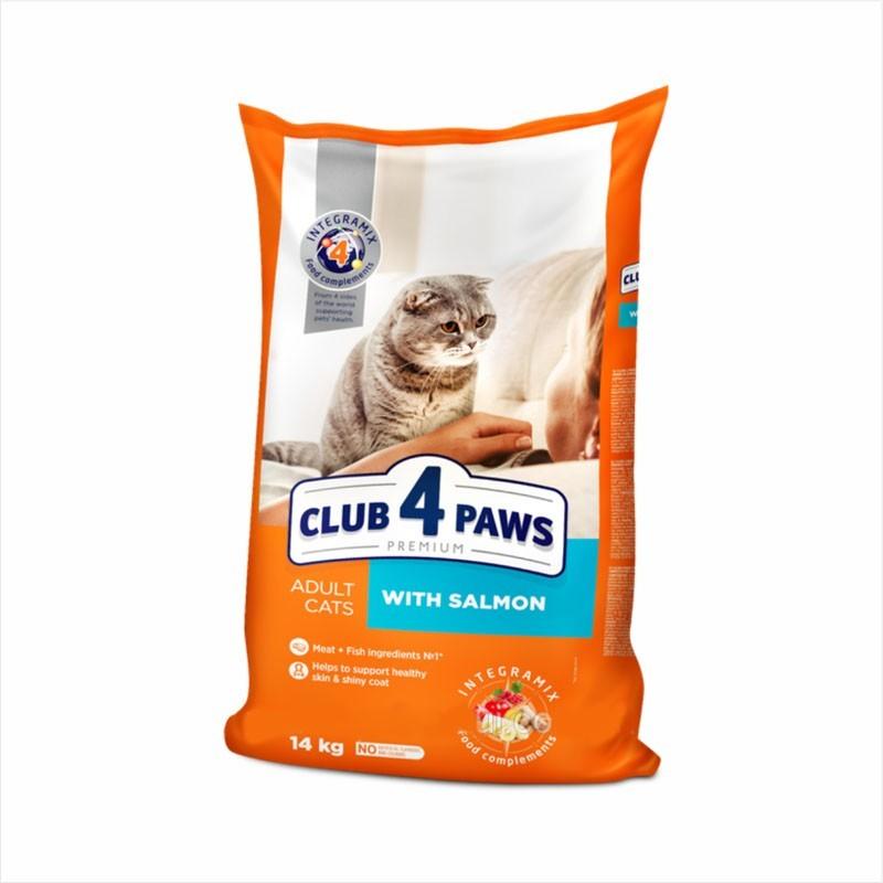 Club 4 Paws - Club 4 Paws Cat cu Somon