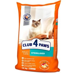 Club 4 Paws - Club 4 Paws Cat Sterilised